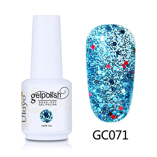 Glitter Nail Polish - Krafti Pop Cosmetics