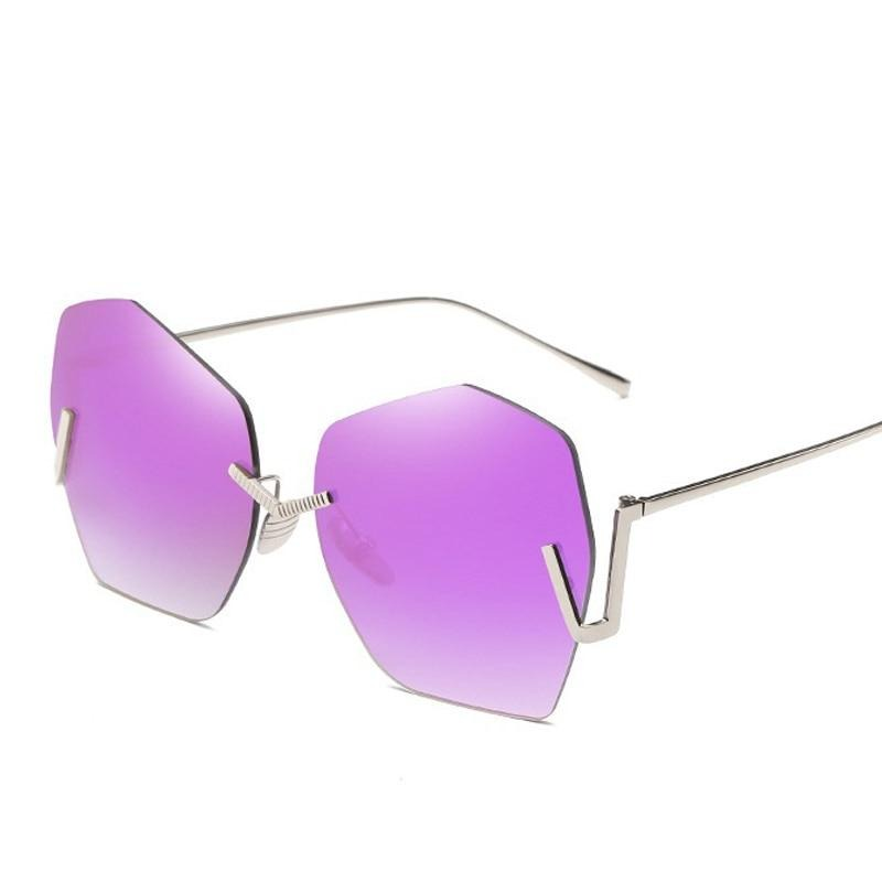 Rimless Sunglasses For Women_2020 - Krafti Pop Cosmetics