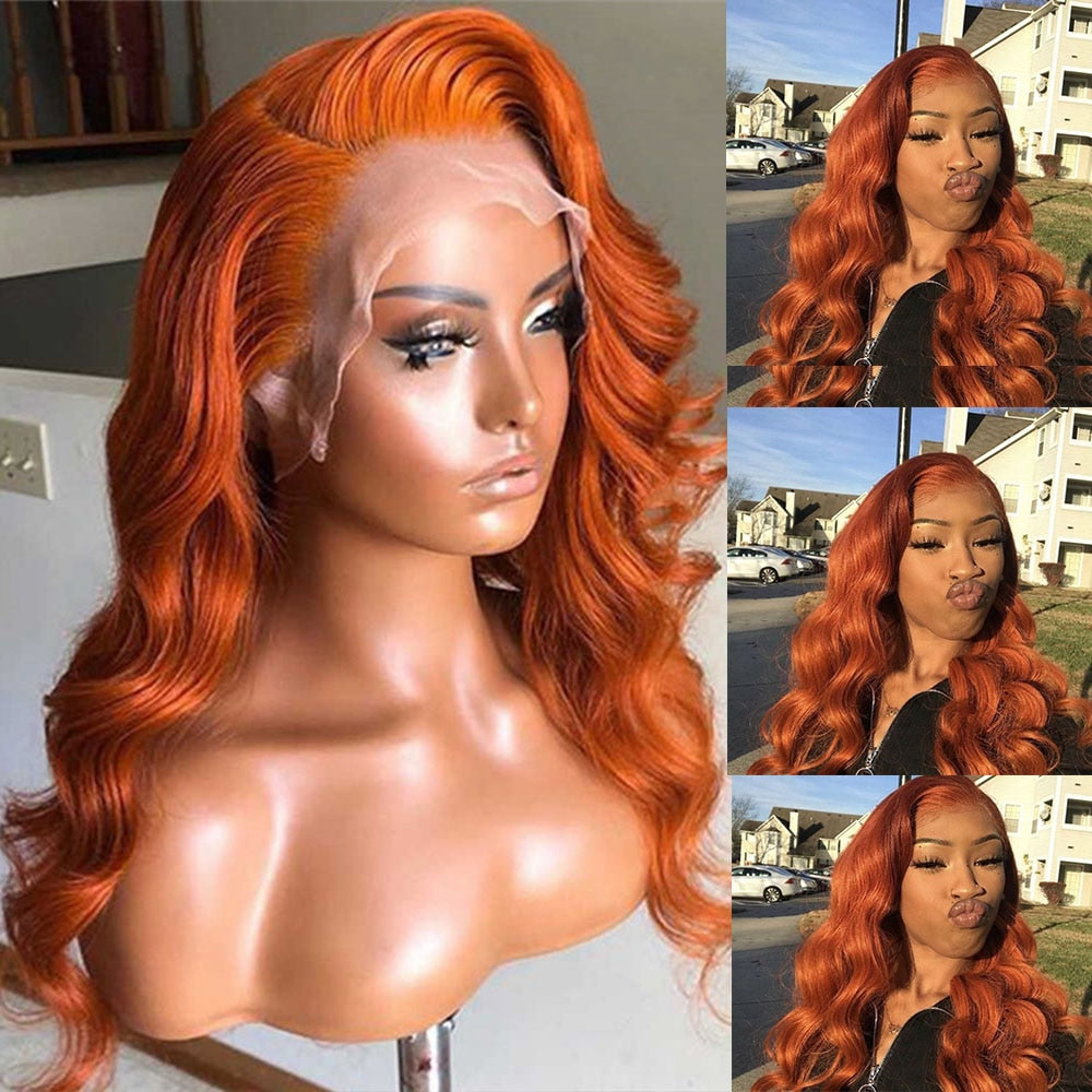 Lace Frontal Human Hair Wigs - Krafti Pop Cosmetics