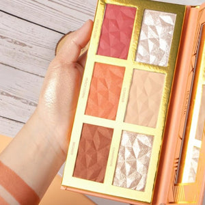 Highlighter Palette - Krafti Pop Cosmetics