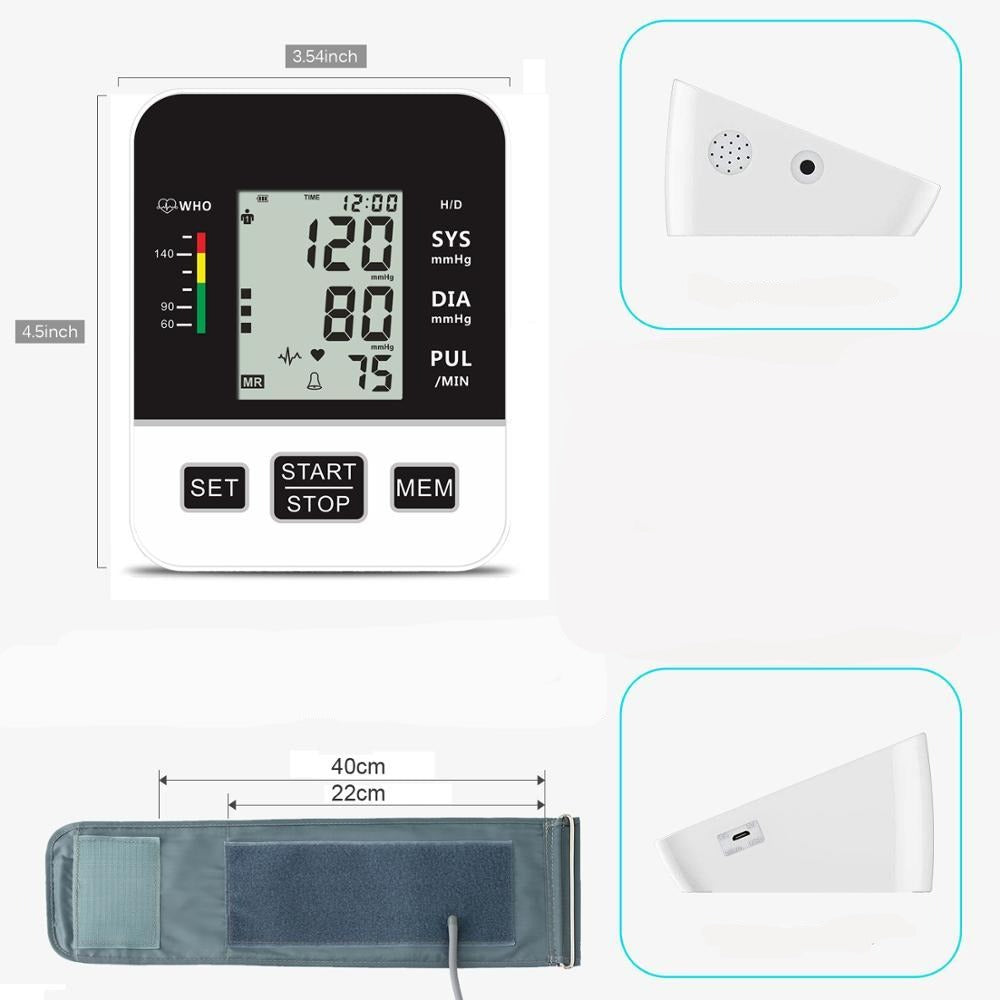 Blood Pressure Monitor - Krafti Pop Cosmetics