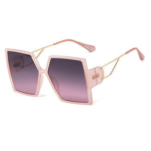 Oversized Square Sunglasses - Krafti Pop Cosmetics