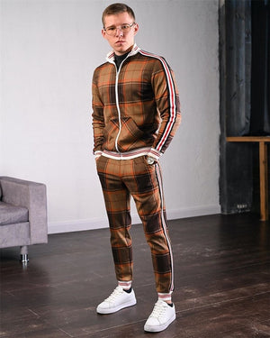 Men Tracksuit Set - Krafti Pop Cosmetics