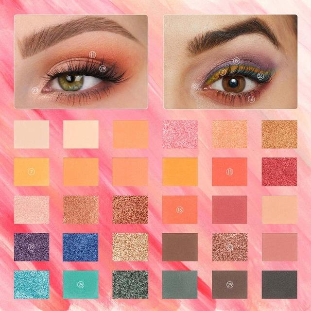 Eyeshadow Palette Glitter - Krafti Pop Cosmetics