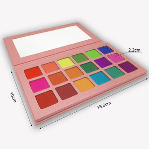 Eyeshadow Palette Matte - Krafti Pop Cosmetics