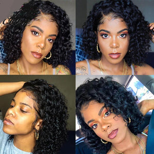 Lace Front Human Hair Wigs With Baby Hair - Krafti Pop Cosmetics