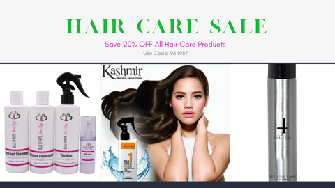 Hair Care Sale Banner July 6 - July 9th