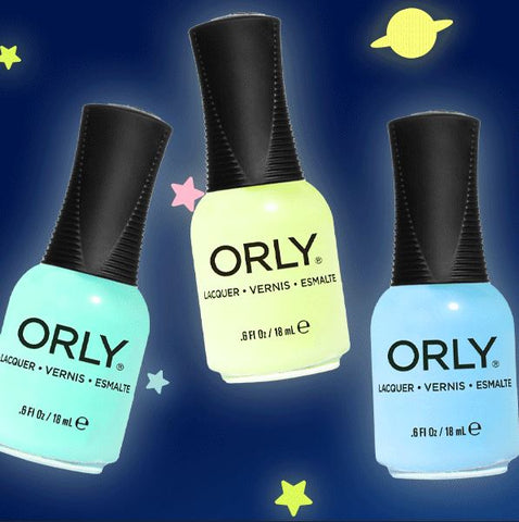 GLOW IN THE DARK NAIL LACQUER BY ORLY
