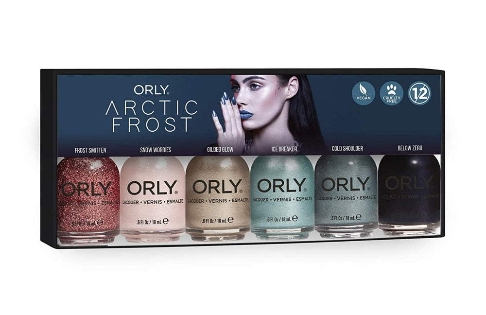Arctic Frost 6 Pix Nail Polish Collection