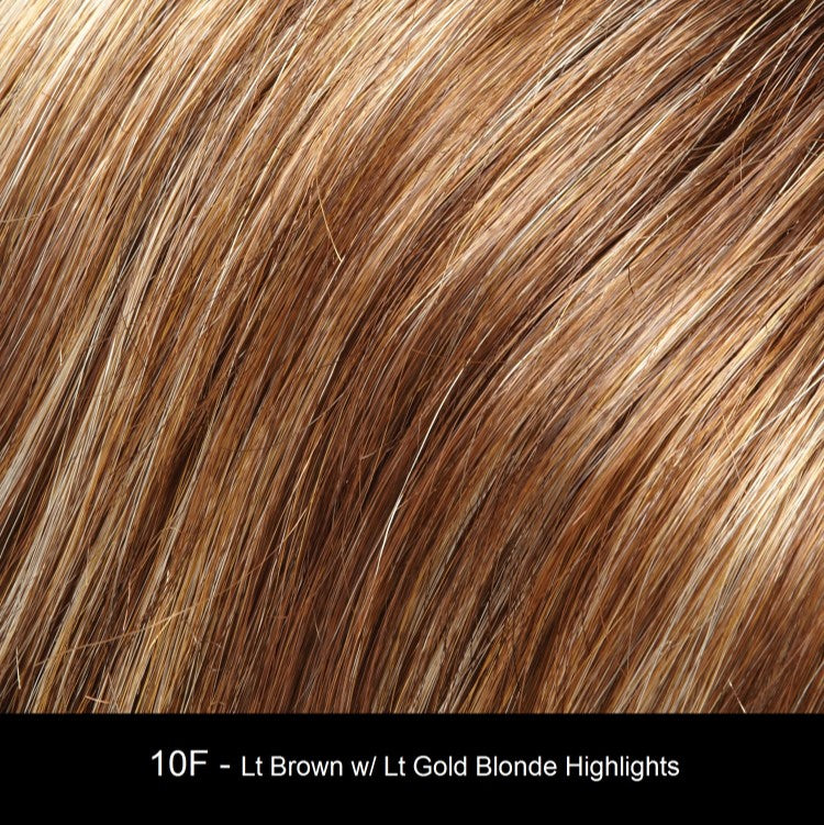 10F | Light Brown with Light Gold Blonde Highlights
