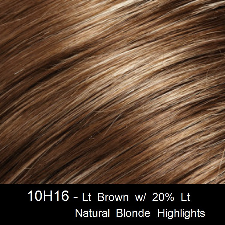 10H16 - Lt Brown w/ 20% Lt Natural Blonde Highlights