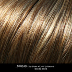 10H24B - Lt Brown w/ 20% Lt Natural Blonde Blend