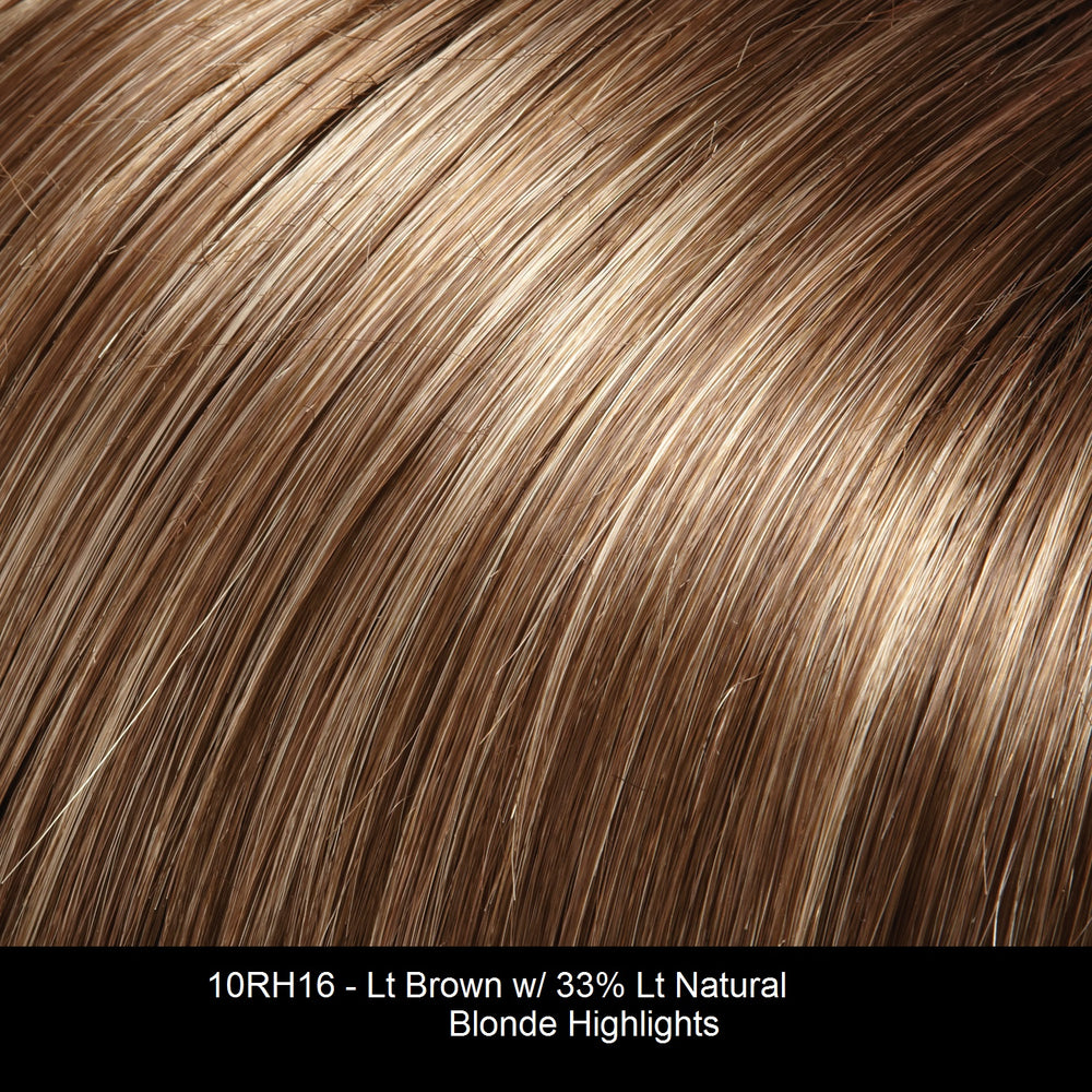 10RH16 ALMONDINE | Light Brown with 33% Light Natural Blonde Highlights