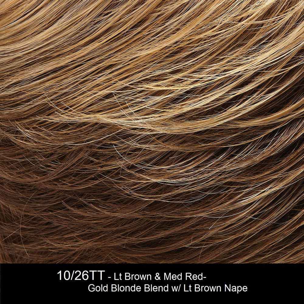 10/26TT FORTUNE COOKIE | Light Brown & Caramel Blonde Blend wth Light Brown Nape