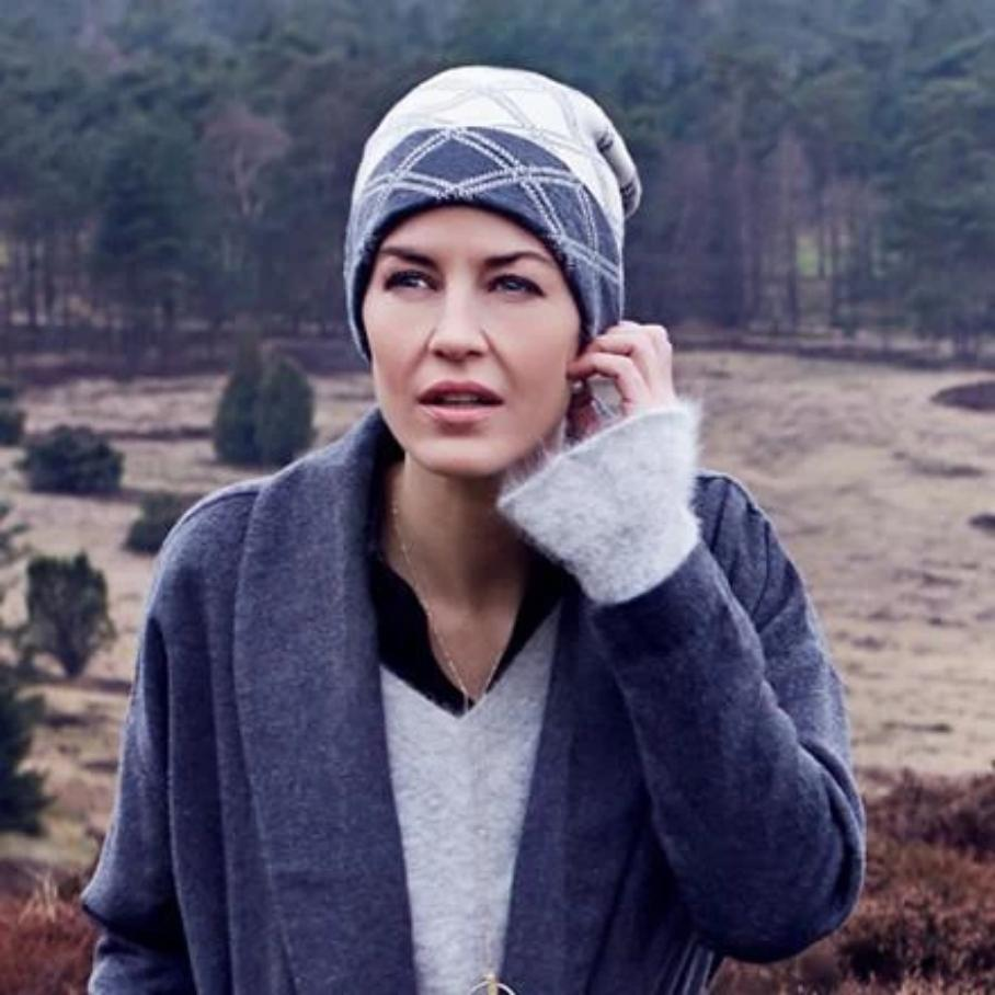 Willow Hat - Cashmere Knitted by Christine Headwear