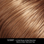 12/30BT ROOTBEER FLOAT | Light Gold Brown and Medium Red-Gold Blend with Medium Red-Gold Tips
