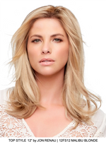 "Top Style 12"" Synthetic Hair Topper (Mono Top)"