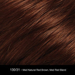 130/31 - Med Natural Red Brown, Med Red Blend