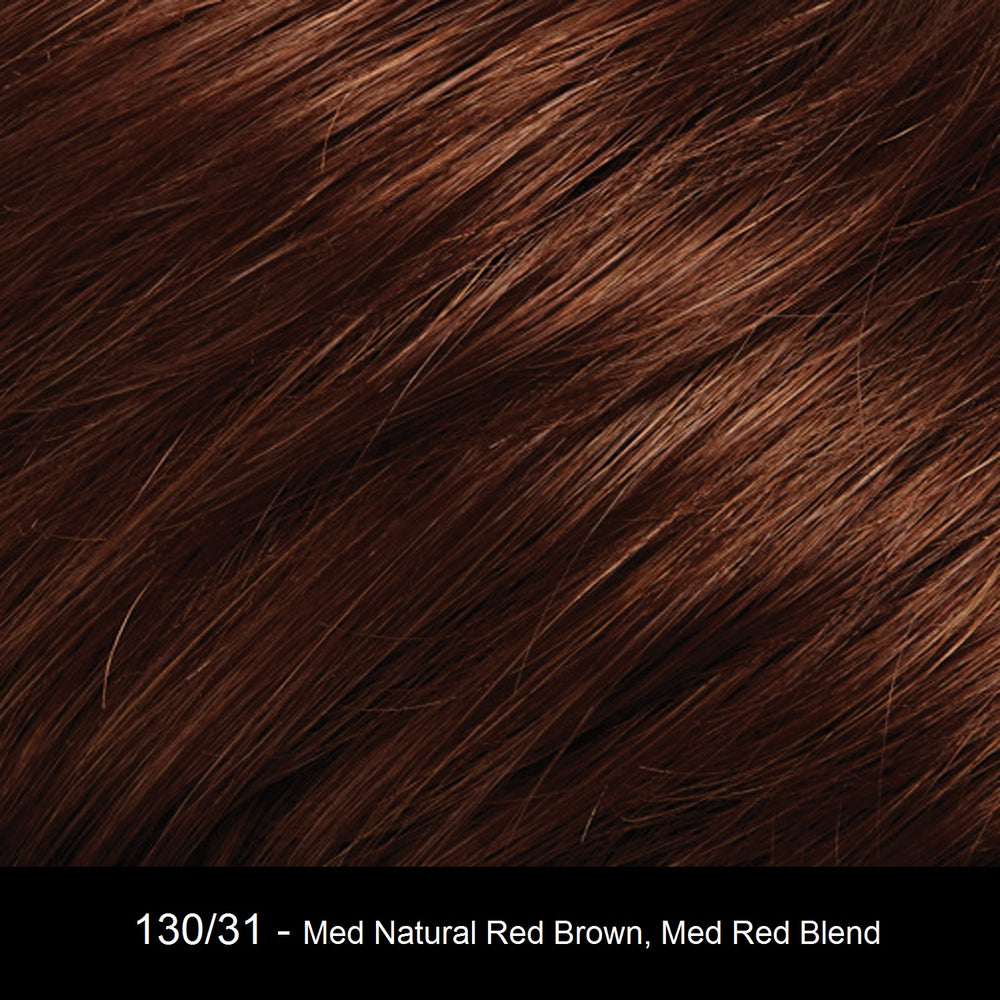 130/31 | Medium Natural Red Brown and Medium Red Blend with Medium Red Tips
