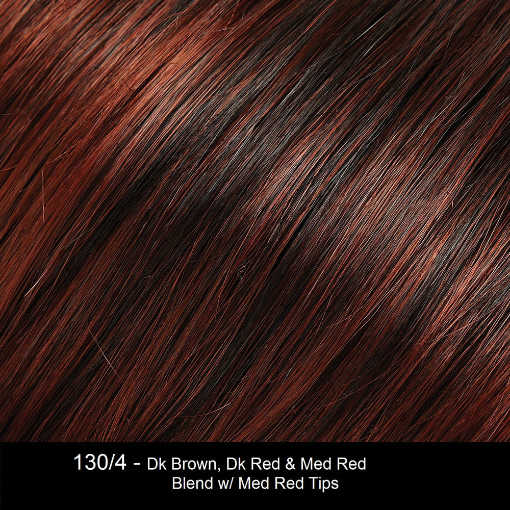 130/4 PAPRIKA | Dark Brown, Dark Red and Medium Red Blend with Medium Red Tips