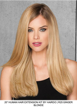 "20"" Human Hair Clip In Extensions Kit (10 pc)"