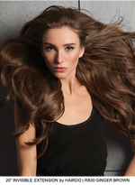 "20"" Invisible Halo HF Synthetic Hair Extensions (1 pc)"
