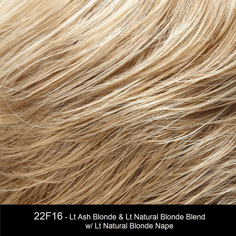 22F16 BLACK TIE BLONDE | Light Ash Blonde and Light Natural Blonde Blend with Light Natural Blonde