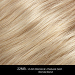 22MB SESAME | Light Ash Blonde and Light Natural Gold Blonde Blend