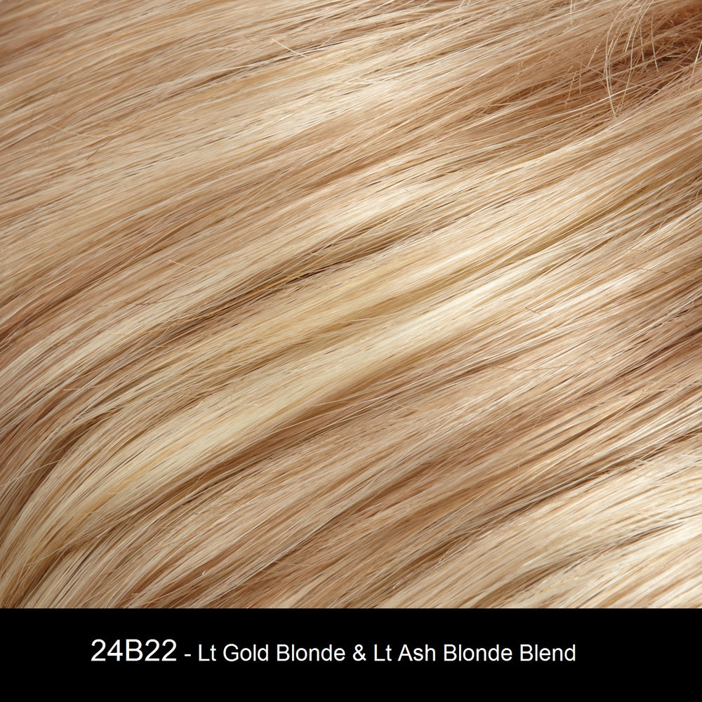 24B22 | Light Gold Blonde and Light Ash Blonde Blend