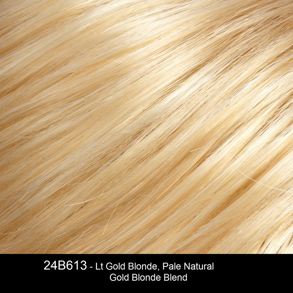 24B613 - Lt Gold Blonde, Pale Natural Gold Blonde Blend