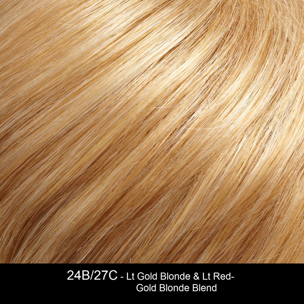 24B/27C - Lt Gold Blonde & Lt Red-Gold Blonde Blend