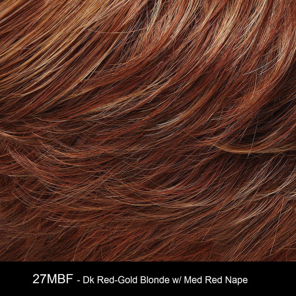 27MBF APPLE PIE | Dark Red-Gold Blonde with Medium Red Nape