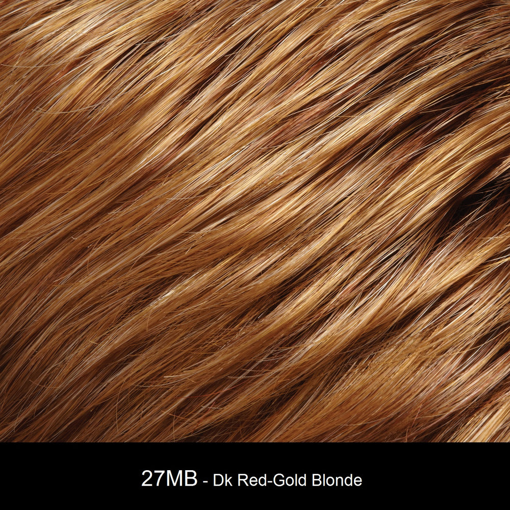 7MB MED RED-GOLD SHORTCAKE | Dark Medium Red-Gold Blonde