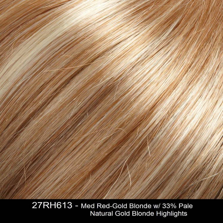27RH613 CITRUS ZEST | Medium Red-Gold Blonde with 33% Pale Natural Gold Blonde Highlights