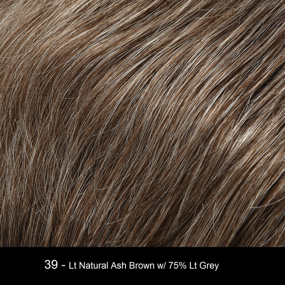 39  Light Natural Ash Brown w/ 75% Light Grey