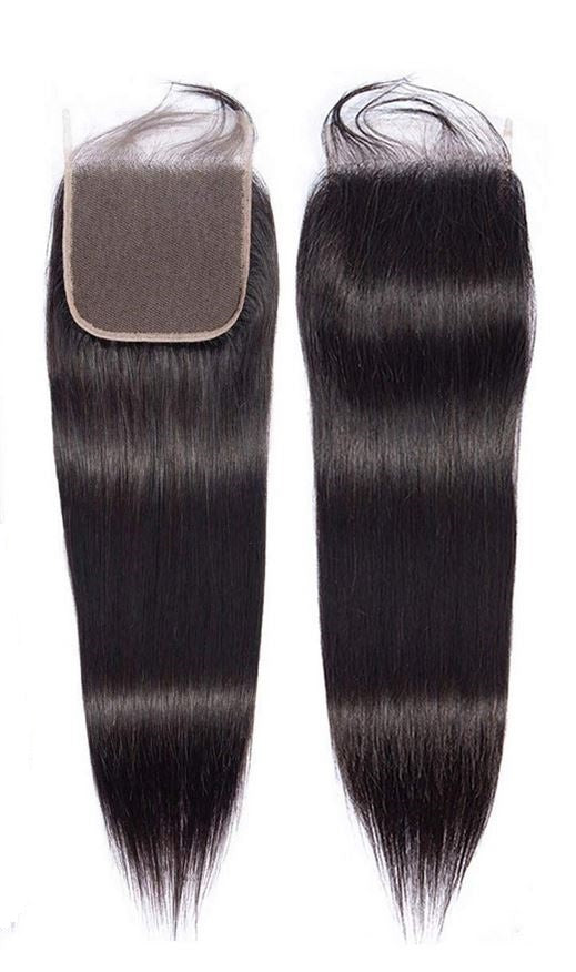 "5"" x 5""  Brazilian Remy Human Hair Closure"