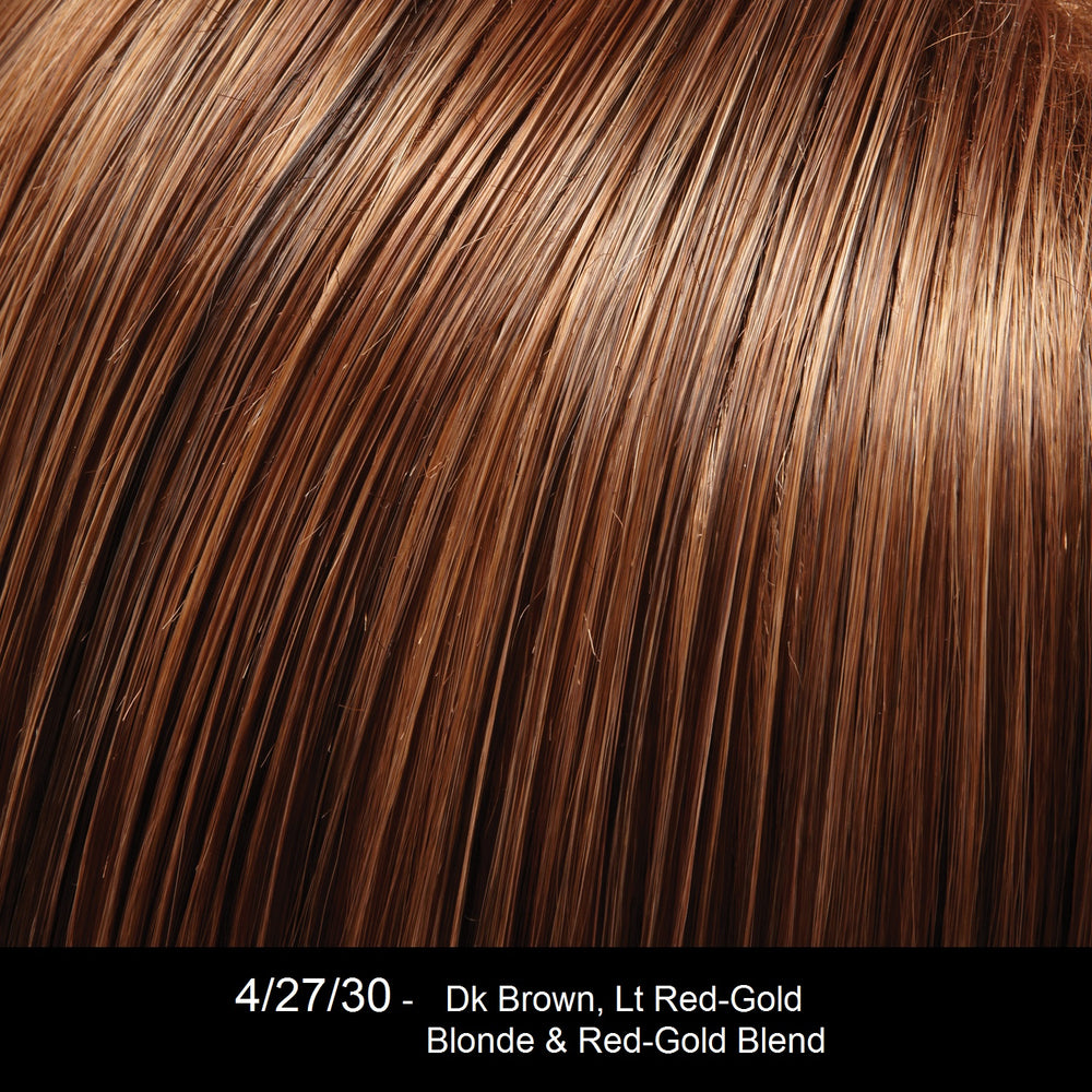 4/27/30 GERMAN CHOCOLATE | Darkest Brown, Light Red-Gold Blonde and Red-Gold Blend