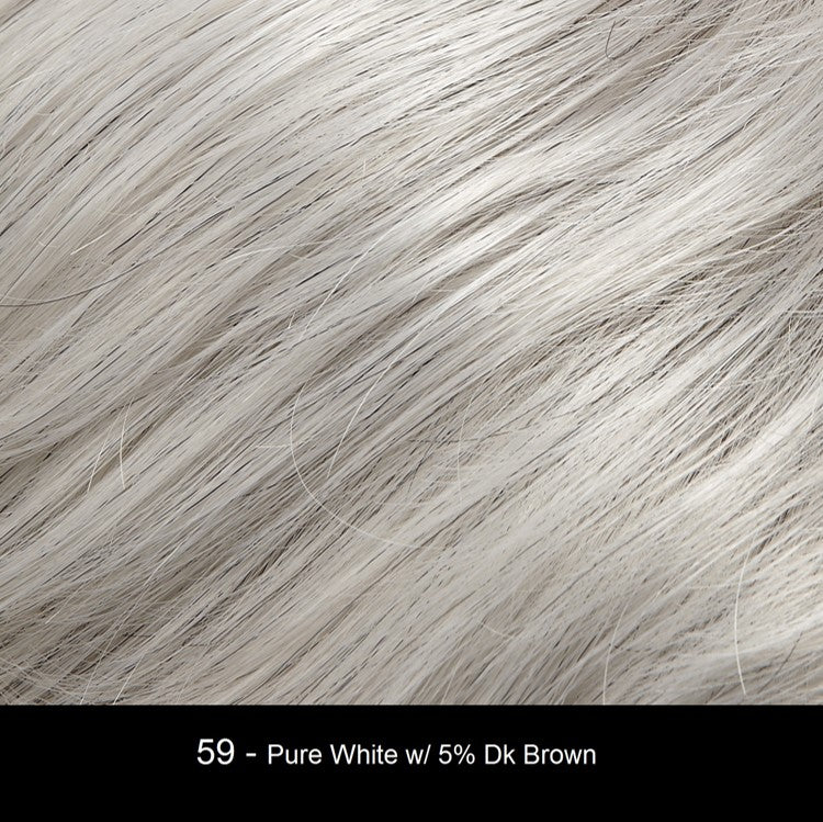 59 | Pure White with 5% Dark Brown
