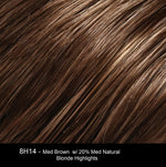 8H14 MOUSSE | Medium Brown with 20% Medium Natural Blonde Highlights