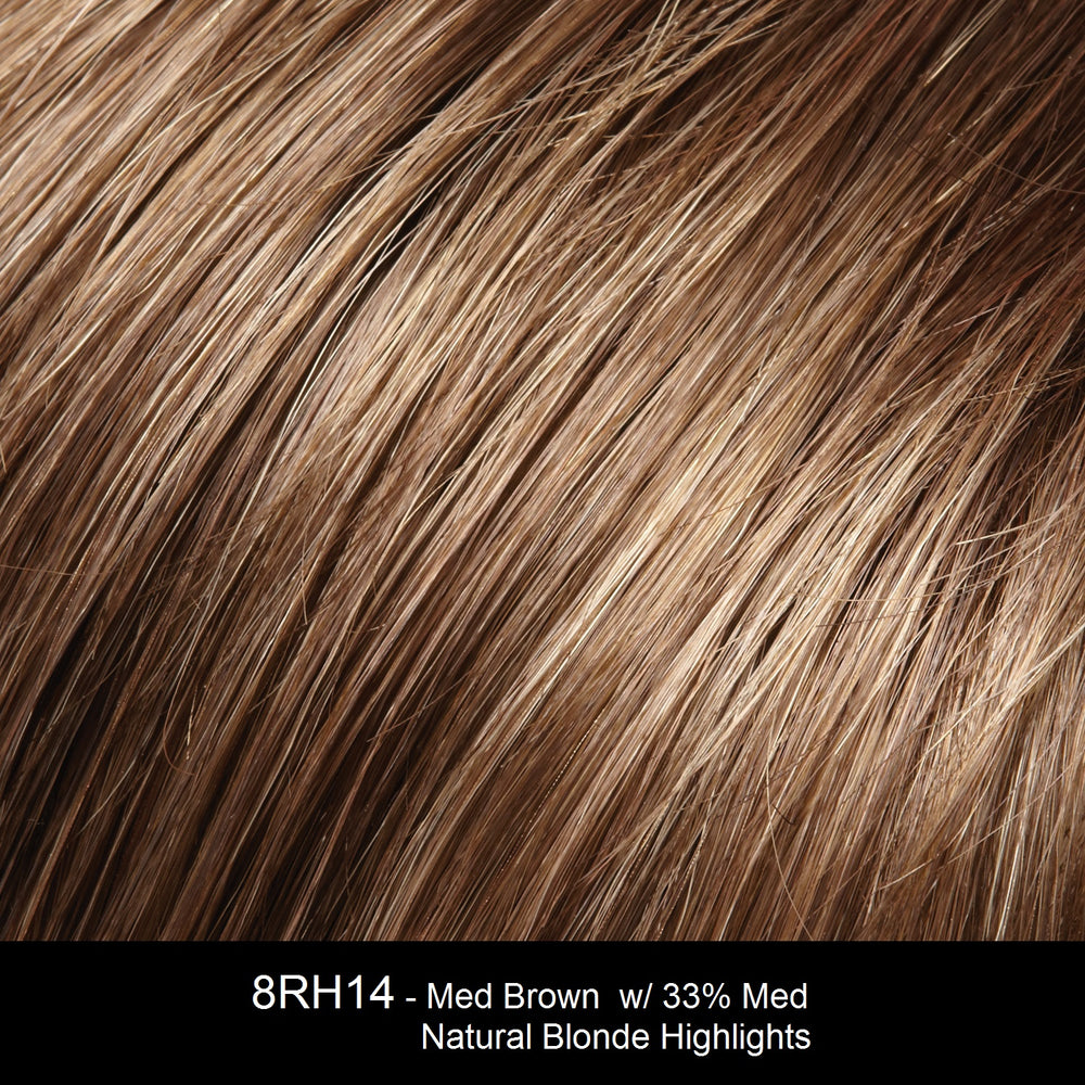 8RH14 | Medium Brown w/33% Medium Natural Blonde Highlights
