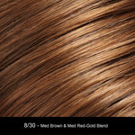 8/30 COCOA TWIST | Medium Brown and Medium Red-Gold Blend