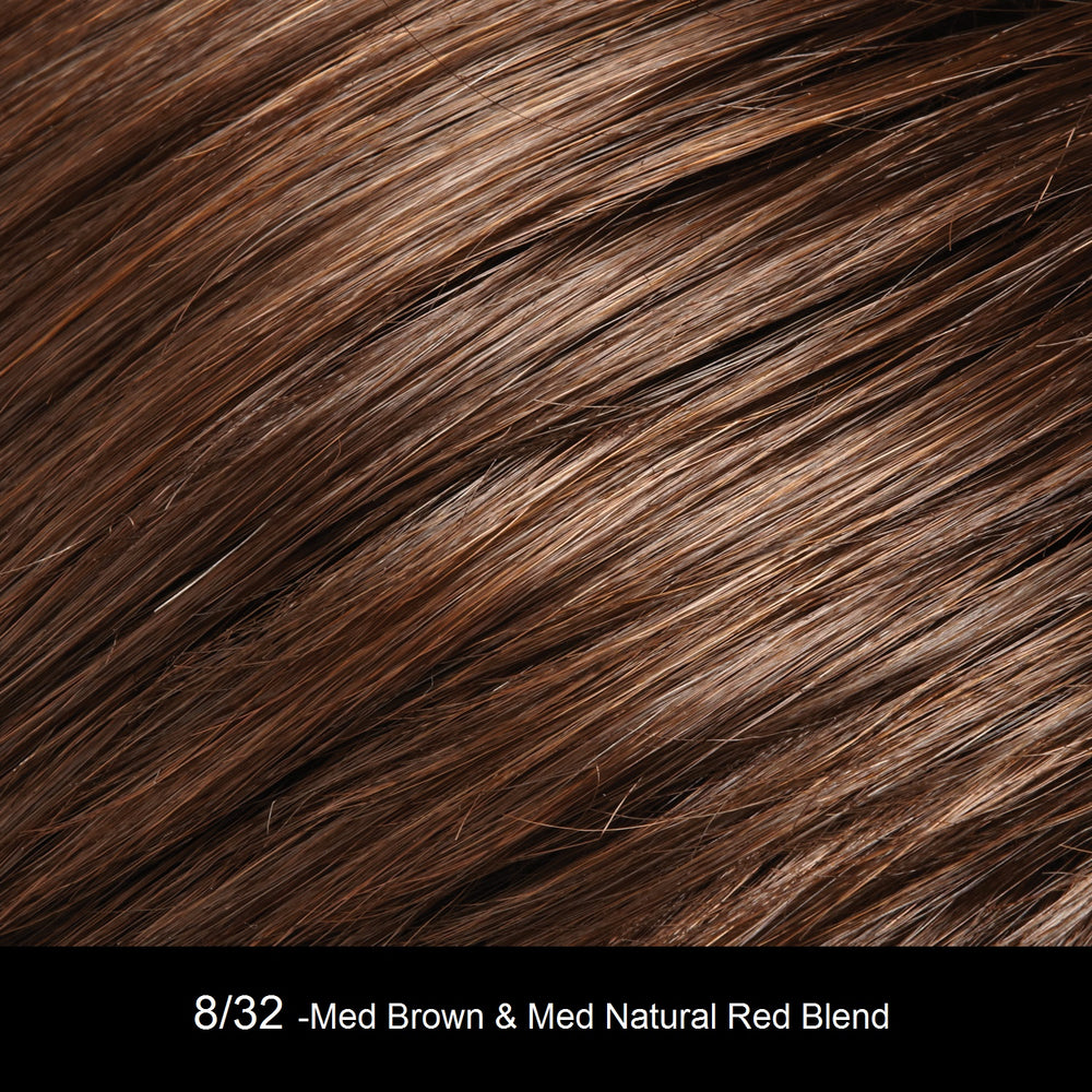 8/32 Medium Brown | Natural Red Blend