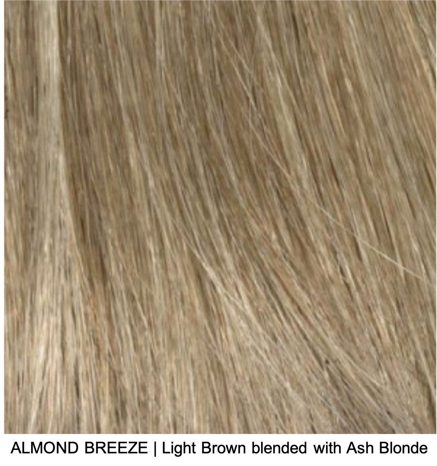 ALMOND BREEZE | Light Brown blended with Ash Blonde