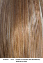 APRICOT FROST | Bright Copper base with a Strawberry Blond highlight