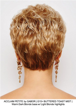 ACCLAIM PETITE by GABOR | G15+ BUTTERED TOAST MIST | Warm Dark Blonde base w/ Light Blonde highlights