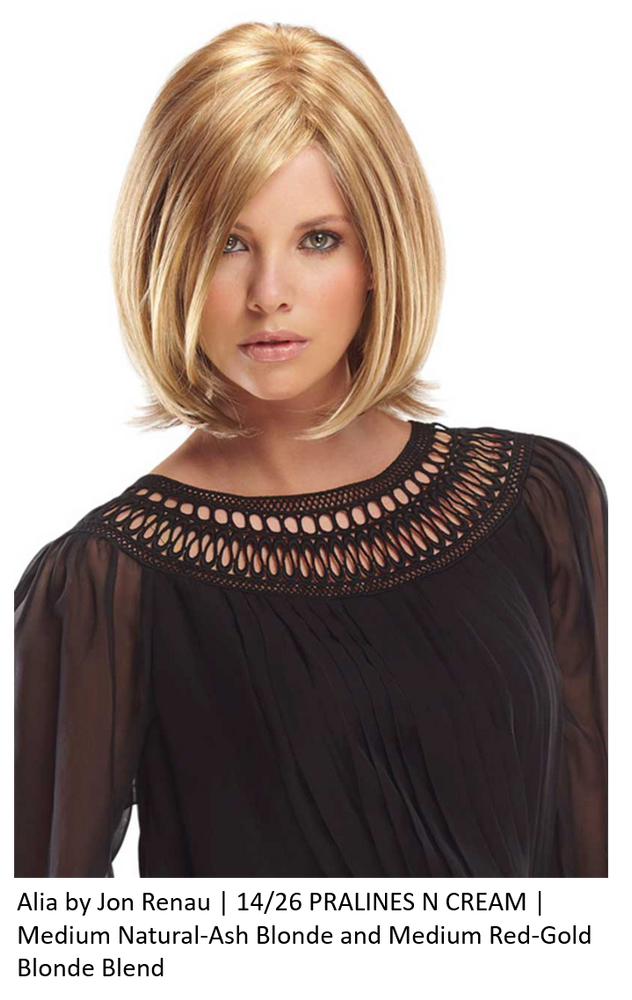 Alia Synthetic Lace Front Wig (Mono Top)