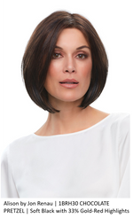 Alison Synthetic Lace Front Wig (Mono Top)