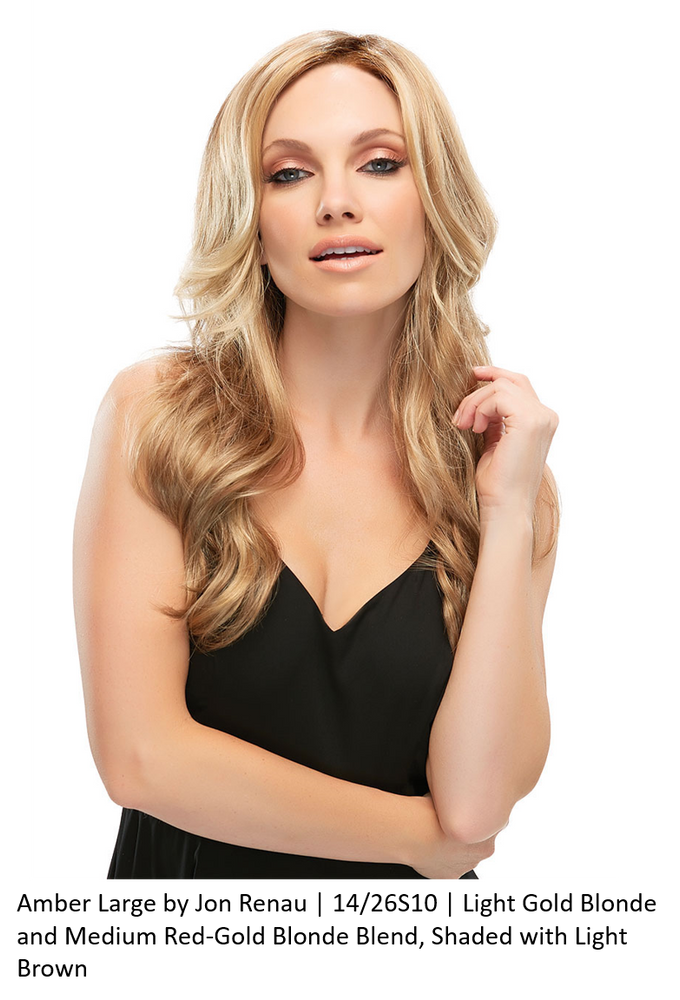 Amber Large Synthetic Lace Front Wig (Mono Top)