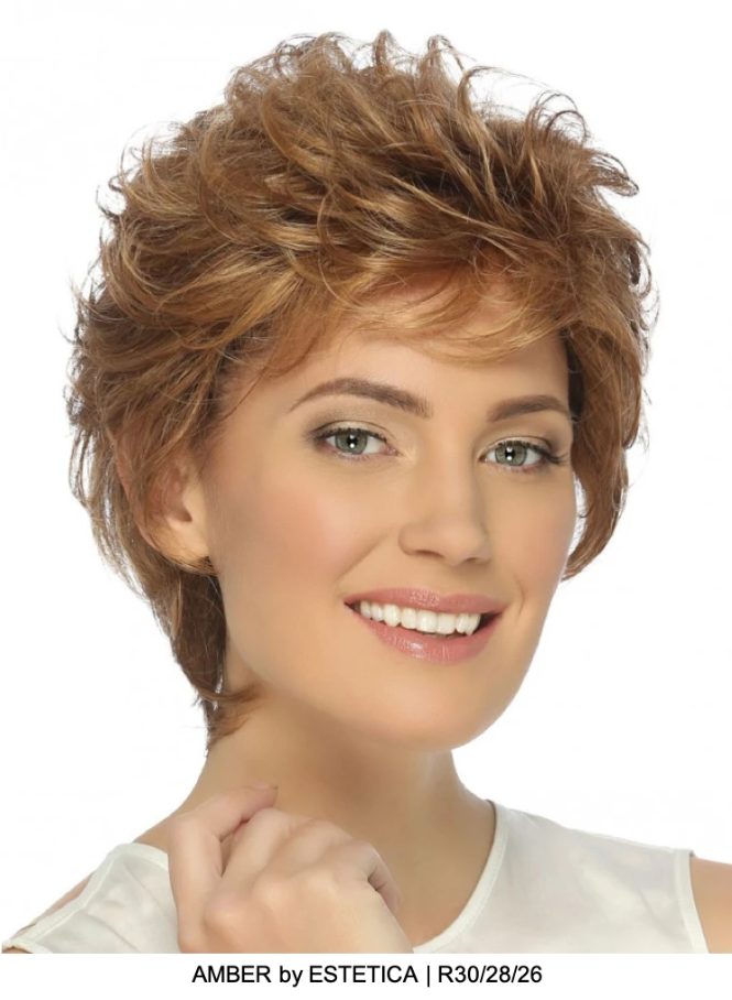 Amber Synthetic Wig (Mono Top) | DISCONTINUED