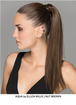 Aqua Synthetic Ponytail (Wrap-Around)